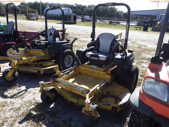 2-02128 (Equip.-Mower)  Seller: Gov-Pinellas County BOCC HUSTLER SUPER Z 934927