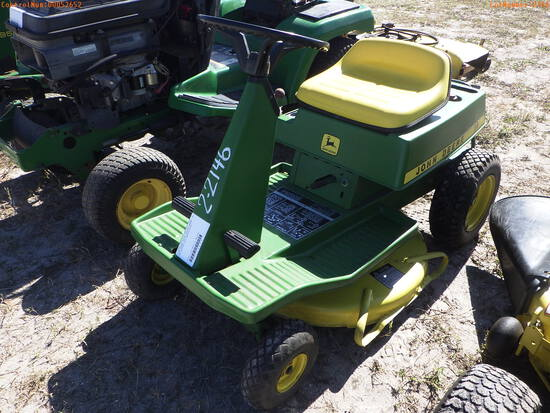 2-02146 (Equip.-Mower)  Seller:Private/Dealer JOHN DEERE T2042 RIDING MOWER
