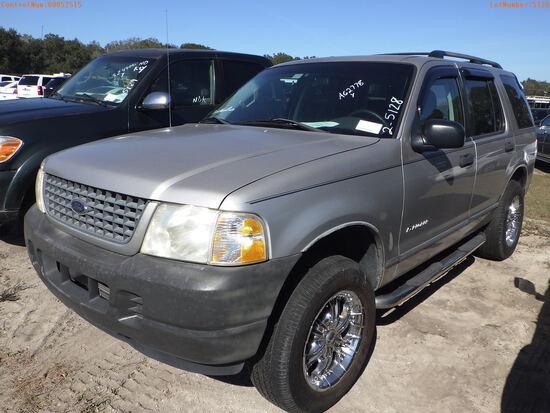 2-05128 (Cars-SUV 4D)  Seller:Private/Dealer 2004 FORD EXPLORER