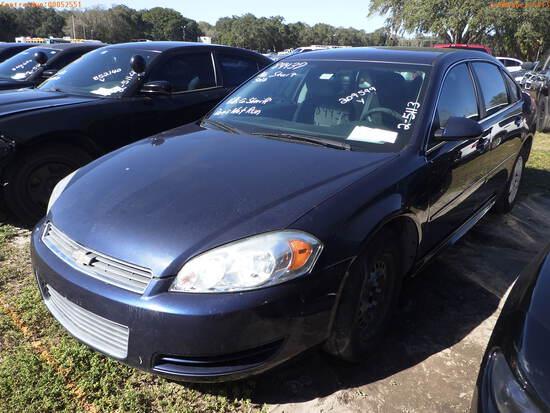 2-05113 (Cars-Sedan 4D)  Seller: Gov-Hillsborough County Sheriff-s 2011 CHEV IMP