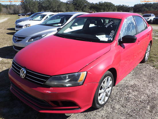 2-07120 (Cars-Sedan 4D)  Seller:Private/Dealer 2015 VOLK JETTA