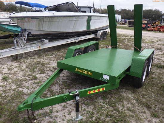 3-03110 (Trailers-Utility flatbed)  Seller:Private/Dealer 2016 HMDE FLAT BED TRA