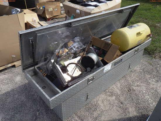 3-04120 (Equip.-Misc.)  Seller:Private/Dealer IDEAL ALUMINUM TRUCK TOOL BOX- IS