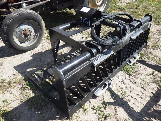 3-01134 (Equip.-Implement Farm)  Seller:Private/Dealer MID STATE 72 INCH GRAPPLE