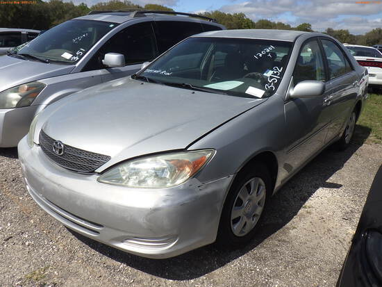 3-05132 (Cars-Sedan 4D)  Seller:Private/Dealer 2003 TOYT CAMRY