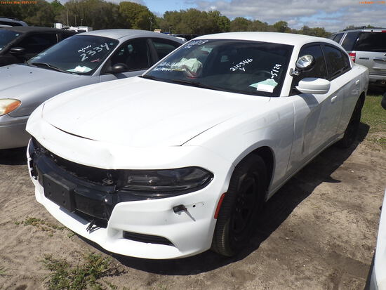 3-05129 (Cars-Sedan 4D)  Seller: Gov-Hillsborough County Sheriffs 2018 DODG CHAR