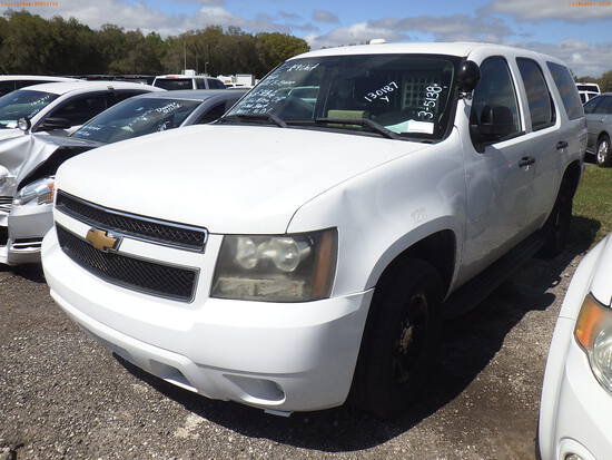 3-05138 (Cars-SUV 4D)  Seller: Gov-City of St.Petersburg 2012 CHEV TAHOE