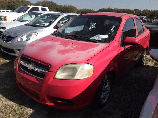 3-07111 (Cars-Sedan 4D)  Seller:Private/Dealer 2009 CHEV AVEO
