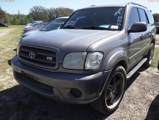 3-07131 (Cars-SUV 4D)  Seller:Private/Dealer 2001 TOYT SEQUOIA
