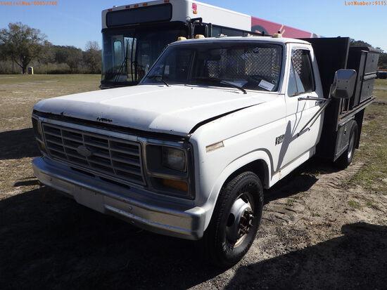 3-52700 (Trucks-Flatbed)  Seller:Private/Dealer 1986 FORD F350