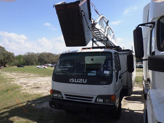 3-08115 (Trucks-Aerial lift)  Seller:Private/Dealer 2005 ISUZ NPR