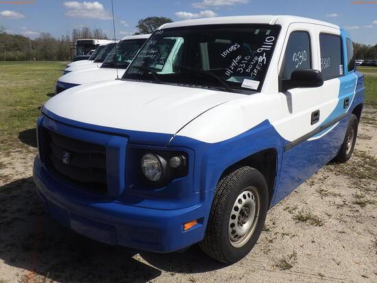 3-09110 (Cars-Van 4D)  Seller: Gov-Hillsborough Area Regional 2014 MOVT MV1