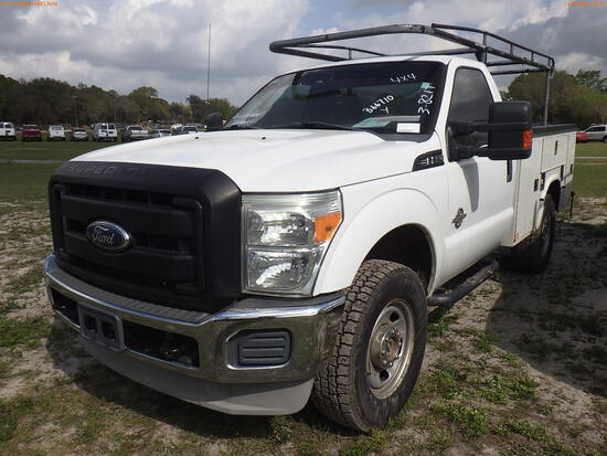 3-08217 (Trucks-Utility 2D)  Seller: Gov-Clay County Utility Authority 2011 FORD