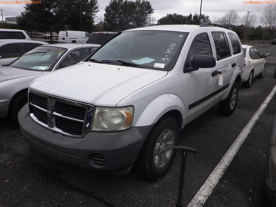 3-14115 (Cars-SUV 4D)  Seller: Florida State A.C.S. 2007 DODG DURANGO