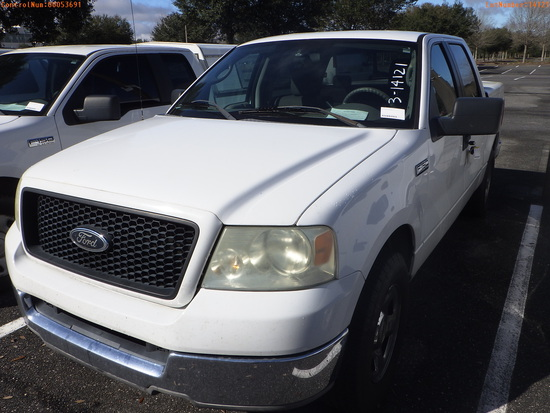 3-14121 (Trucks-Pickup 4D)  Seller: Florida State A.C.S. 2005 FORD F150