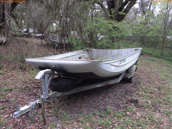 3-15114 (Vessels-Air boat)  Seller: Florida State F.W.C. 2007 SAP AIRBOAT