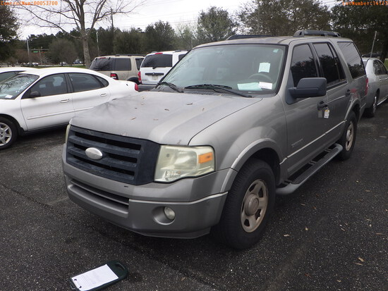 3-14113 (Cars-SUV 4D)  Seller: Florida State D.F.S. 2008 FORD EXPEDITIO