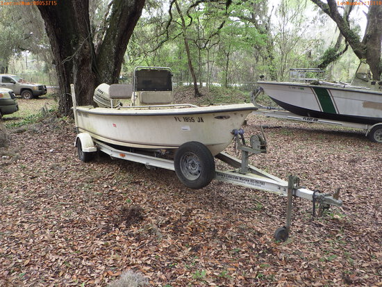 3-15110 (Vessels-Center console)  Seller: Florida State F.W.C. 1994 KEYW 17FT