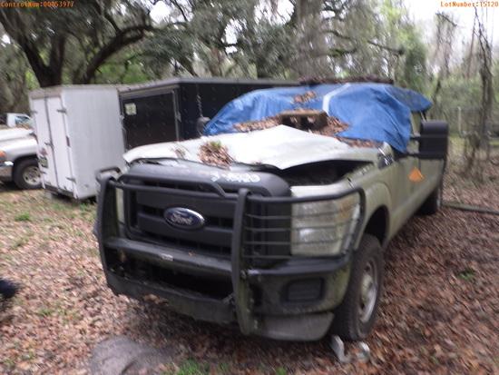 3-15120 (Trucks-Pickup 4D)  Seller: Florida State F.W.C. 2013 FORD F250SD