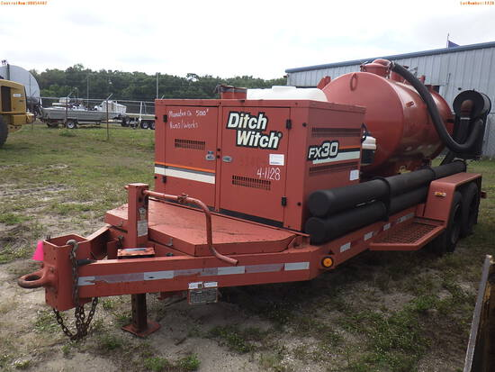 4-01128 (Trailers-Sewer)  Seller: Gov-Manatee County 2007 DITC FX30