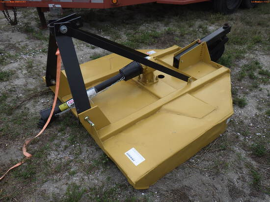 4-01127 (Equip.-Mower)  Seller:Private/Dealer 3PT HITCH PTO ROTARY MOWER