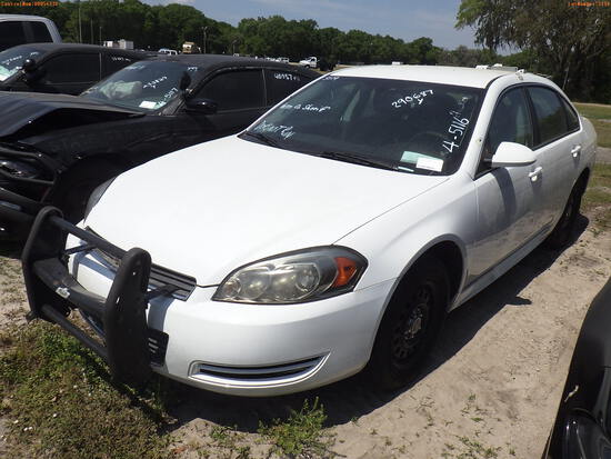 4-05116 (Cars-Sedan 4D)  Seller: Gov-Pasco County Sheriffs Office 2011 CHEV IMPA