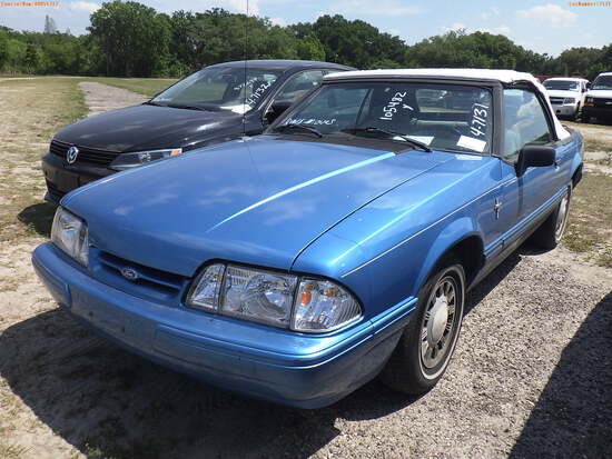 4-07131 (Cars-Convertible)  Seller:Private/Dealer 1992 FORD MUSTANG