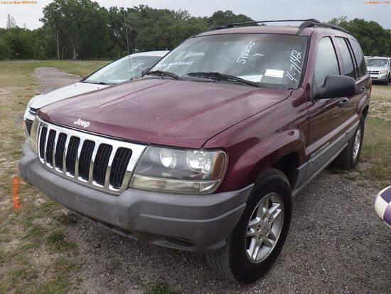 4-07142 (Cars-SUV 4D)  Seller:Private/Dealer 2003 JEEP GRANDCHER