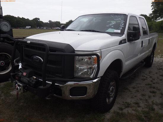 4-08214 (Trucks-Pickup 4D)  Seller: Gov-Orange County Sheriffs Office 2012 FORD