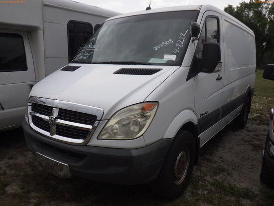 4-08212 (Trucks-Van Cargo)  Seller: Gov-Pinellas County Sheriffs Ofc 2008 DODG S