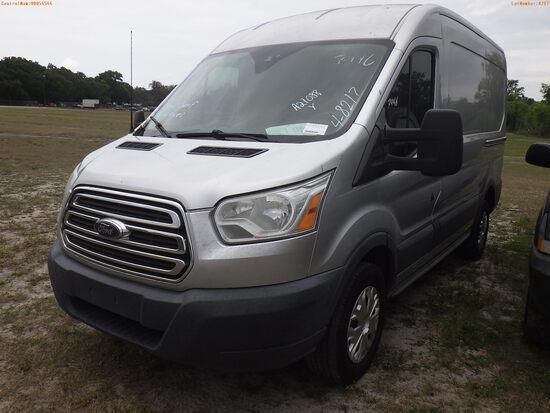 4-08217 (Trucks-Van Cargo)  Seller: Gov-Orange County Sheriffs Office 2016 FORD