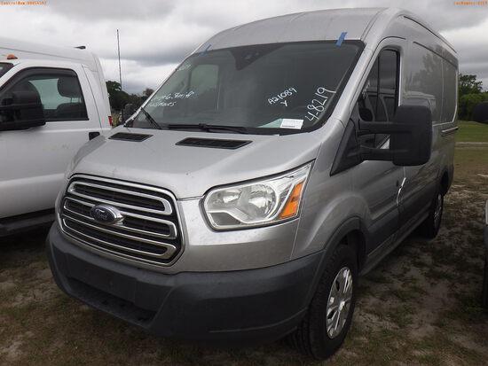 4-08219 (Trucks-Van Cargo)  Seller: Gov-Orange County Sheriffs Office 2016 FORD