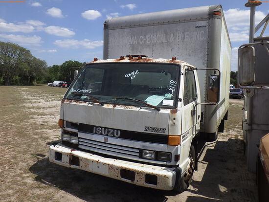 4-08118 (Trucks-Box)  Seller:Private/Dealer 1993 ISUZ NPR