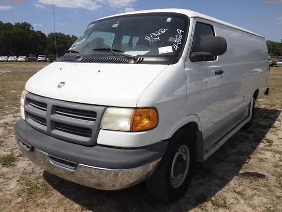 4-08224 (Trucks-Van Cargo)  Seller: Gov-Hillsborough County Sheriffs 2003 DODG R