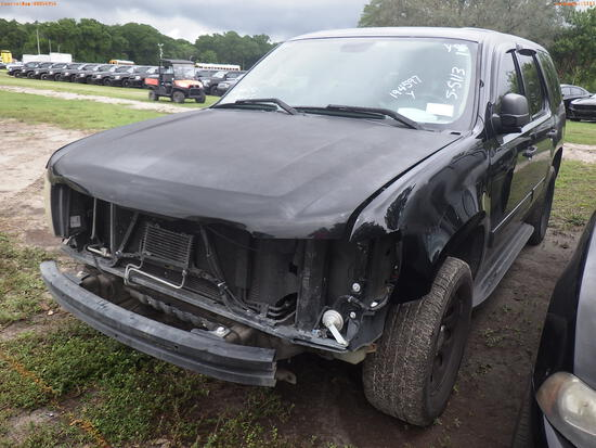 5-05113 (Cars-SUV 4D)  Seller: Florida State F.H.P. 2014 CHEV TAHOE