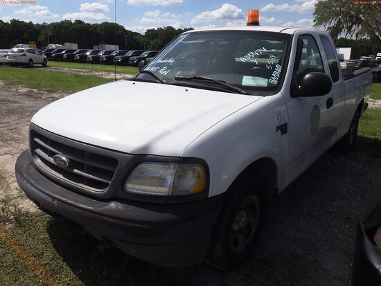 5-05119 (Trucks-Pickup 2D)  Seller: Gov-City of Bradenton 2003 FORD F150XL