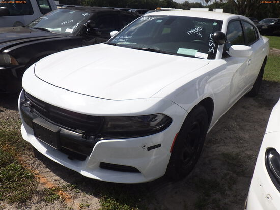 5-05117 (Cars-Sedan 4D)  Seller: Gov-Hillsborough County Sheriffs 2016 DODG CHAR