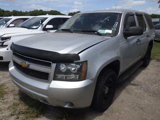 5-05122 (Cars-SUV 4D)  Seller: Florida State D.F.S. 2014 CHEV TAHOE