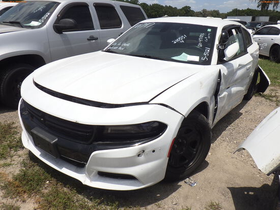 5-05121 (Cars-Sedan 4D)  Seller: Gov-Hillsborough County Sheriffs 2018 DODG CHAR