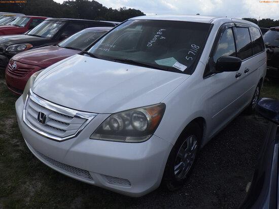 5-07118 (Cars-Van 4D)  Seller:Private/Dealer 2009 HOND ODESSEY