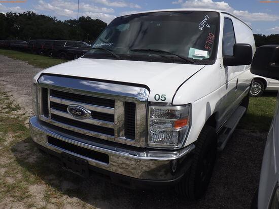 5-07130 (Trucks-Van Cargo)  Seller:Private/Dealer 2013 FORD E250