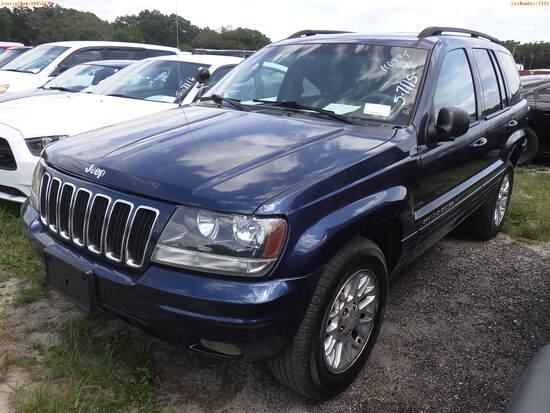 5-07115 (Cars-SUV 4D)  Seller:Private/Dealer 2002 JEEP GRANDCHER
