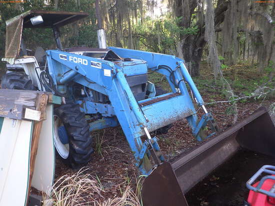 5-14110 (Equip.-Tractor)  Seller: Florida State F.W.C. FORD EA5H4C OROPS TRACTOR