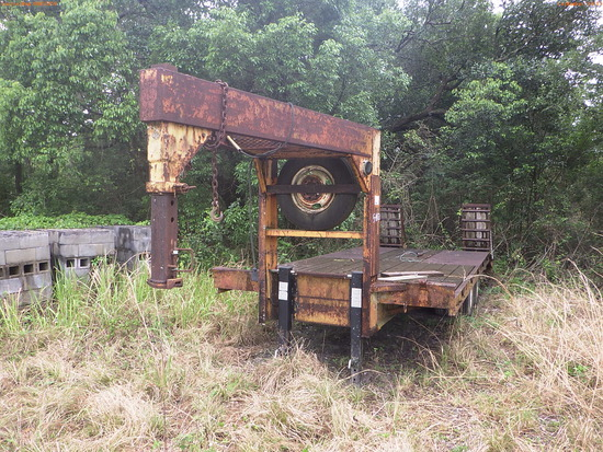 5-14113 (Trailers-Equipment)  Seller: Florida State F.W.C. 1988 GOOS TRAILER