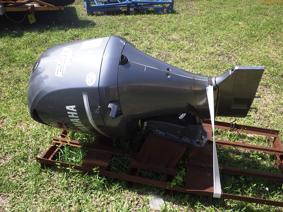 5-15113 (Equip.-Boat engine)  Seller: Florida State F.W.C. YAMAHA LF250UCA FOUR