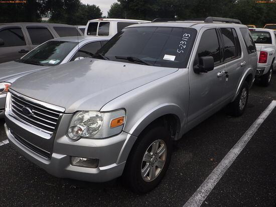 5-23113 (Cars-SUV 4D)  Seller: Florida State D.F.S. 2009 FORD EXPLORER