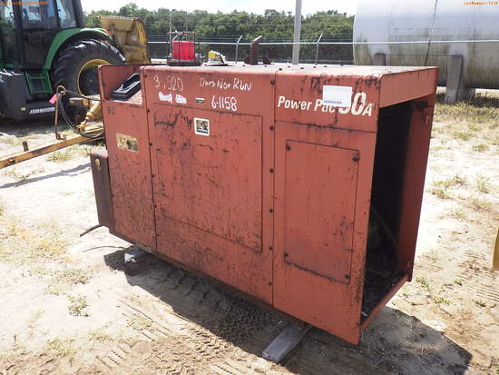 6-01158 (Equip.-Power unit)  Seller:Private/Dealer DITCH WITCH 50A POWER PAC DIE