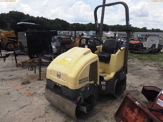 6-01536 (Equip.-Roller)  Seller: Gov-Pinellas County BOCC WACKER NEUSON RD12A VI