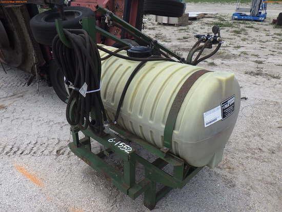 6-01552 (Equip.-Sprayer)  Seller:Private/Dealer VANS 3PT HITCH PTO SPRAYER ATTAC