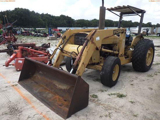 6-01544 (Equip.-Tractor)  Seller:Private/Dealer FORD 345C OROPS TRACTOR LOADER
